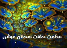 سخنان عرشی حکیم رضی در باب عظمت خلقت و اسرار آن